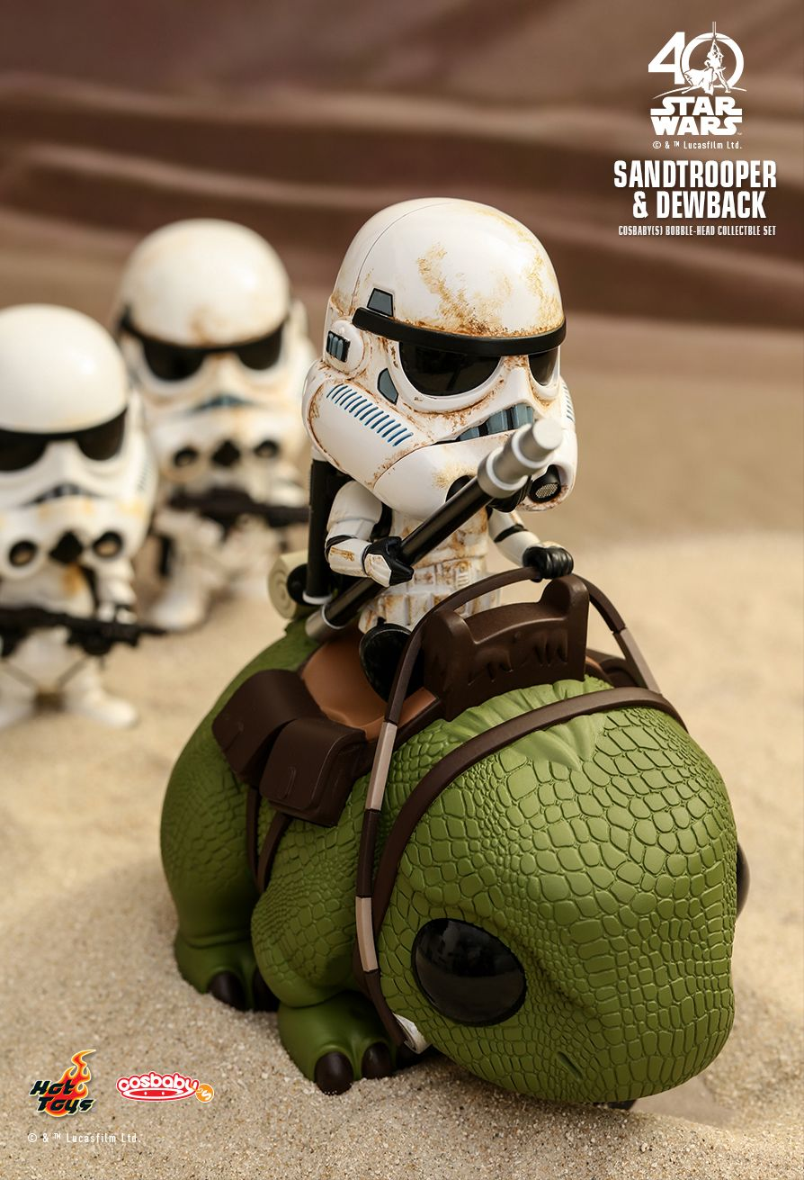 Hot Toys COSB387 STAR WARS - SANDTROOPER & DEWBACK
