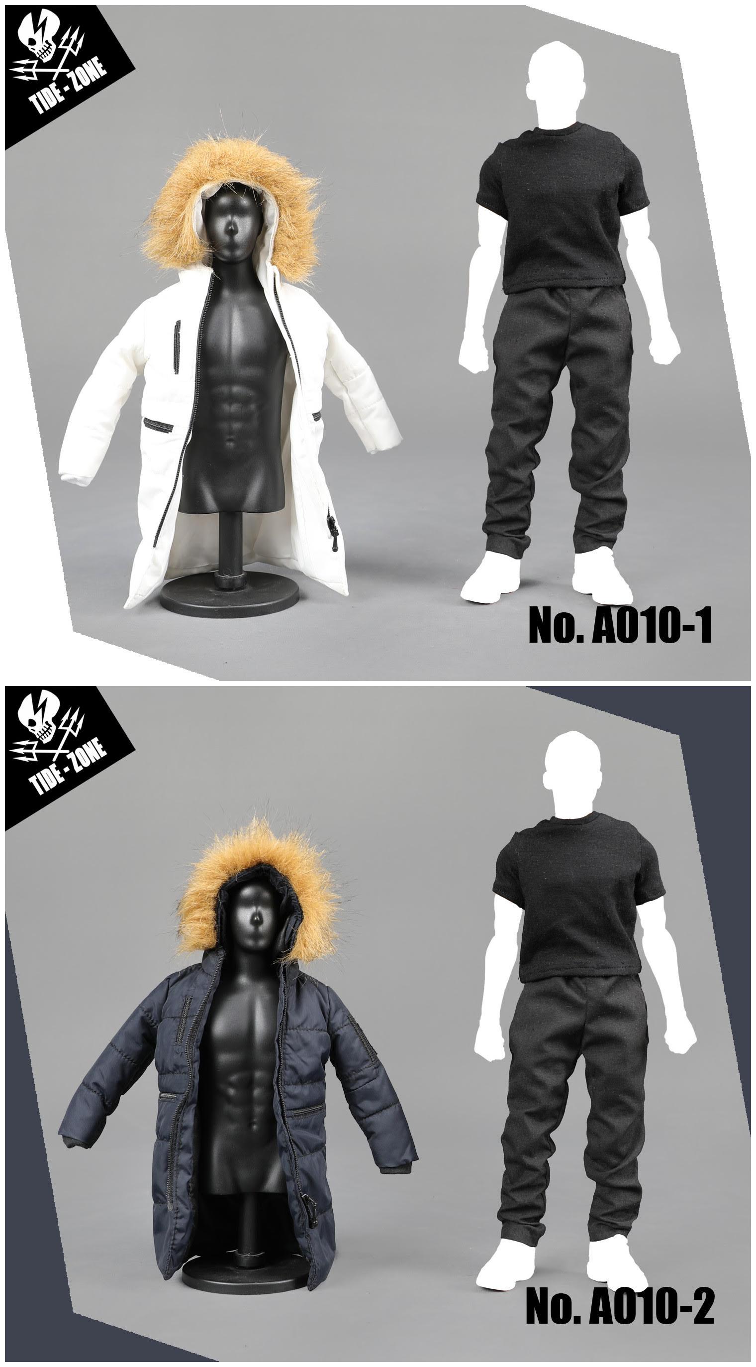 22/08/2018 TIDE-ZONE A010 1/6 Cotton coat suit