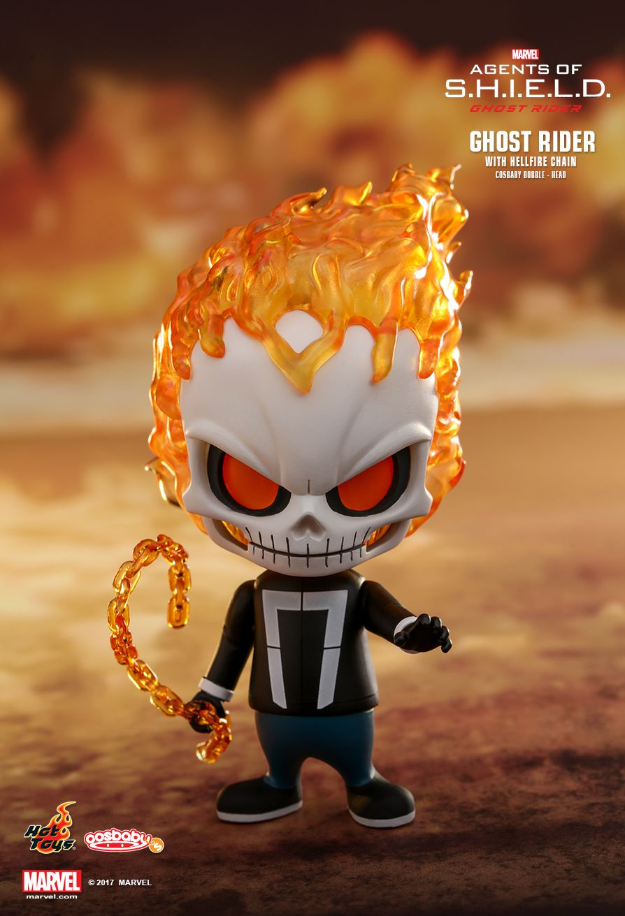 Hot Toys COSB401 AGENTS OF S.H.I.E.L.D. - GHOST RIDER WITH HELLFIRE CHAIN