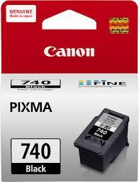 ตลับหมึกแท้ Canon PG-740 หมึกดำ ราคา 500 บาท