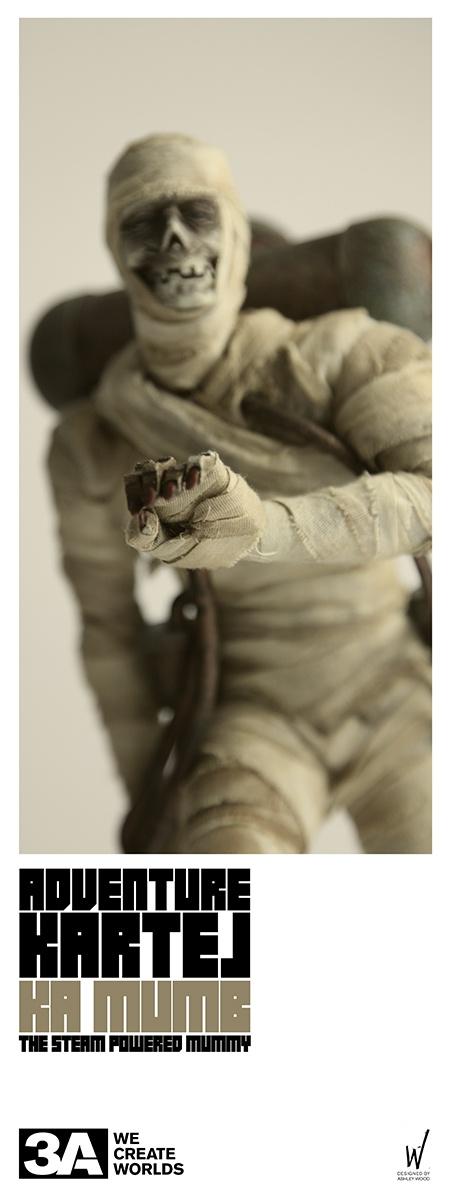 ThreeA Adventure Katel - KAMO MUMB The Steam Powered Mummy