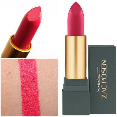 **พร้อมส่ง**M.A.C Zac Posen Matte Lipstick # Dangerously Red (Limited Edition) เนื้อแมทสีแดงอมชมพูฟิวเซีย ลิปสติกคอลเลคชั่นใหม่รุ่นลิมิเต็ด ที่ได้ดีไซเนอร์ชื่อดัง Zac Posen ,