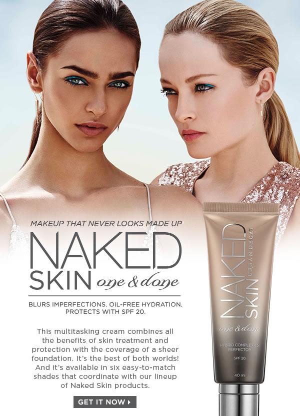 **พร้อมส่ง**Urban Decay Naked Skin One & Done Hybrid Complexion Perfector SPF 20 ขนาด 40ml. ครีมรองพื้นที่รวมคุณประโยชน์ของทรีตเม้นต์บำรุงและปกป้องผิว ช่วยอำพรางจุดบกพร่องและปรับสีผิวให้สม่ำเสมอในทันที เพื่อผิวที่สวยสมบูรณ์แบบ สูตรผสมบางเบาสุดไฮเทคนี้ม ,