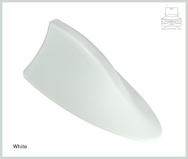 เสาวิทยุครีบฉลาม สีขาว (White)