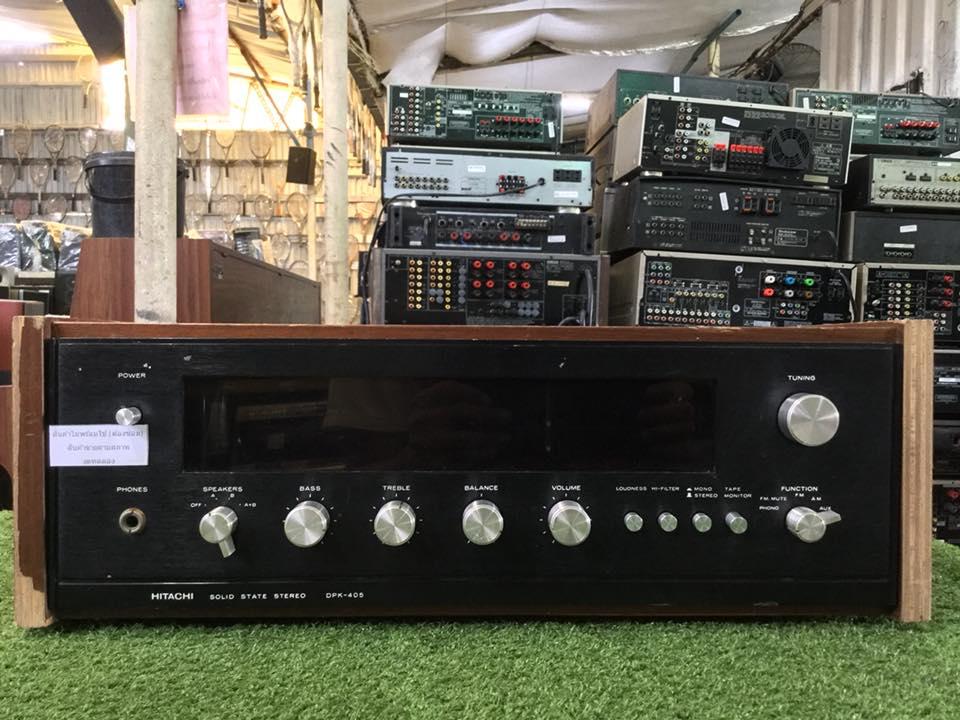 วิทยุ FM AM HITACHI DPX-402 สินค้าไม่พร้อมใช้งาน (ต้องซ่อม)
