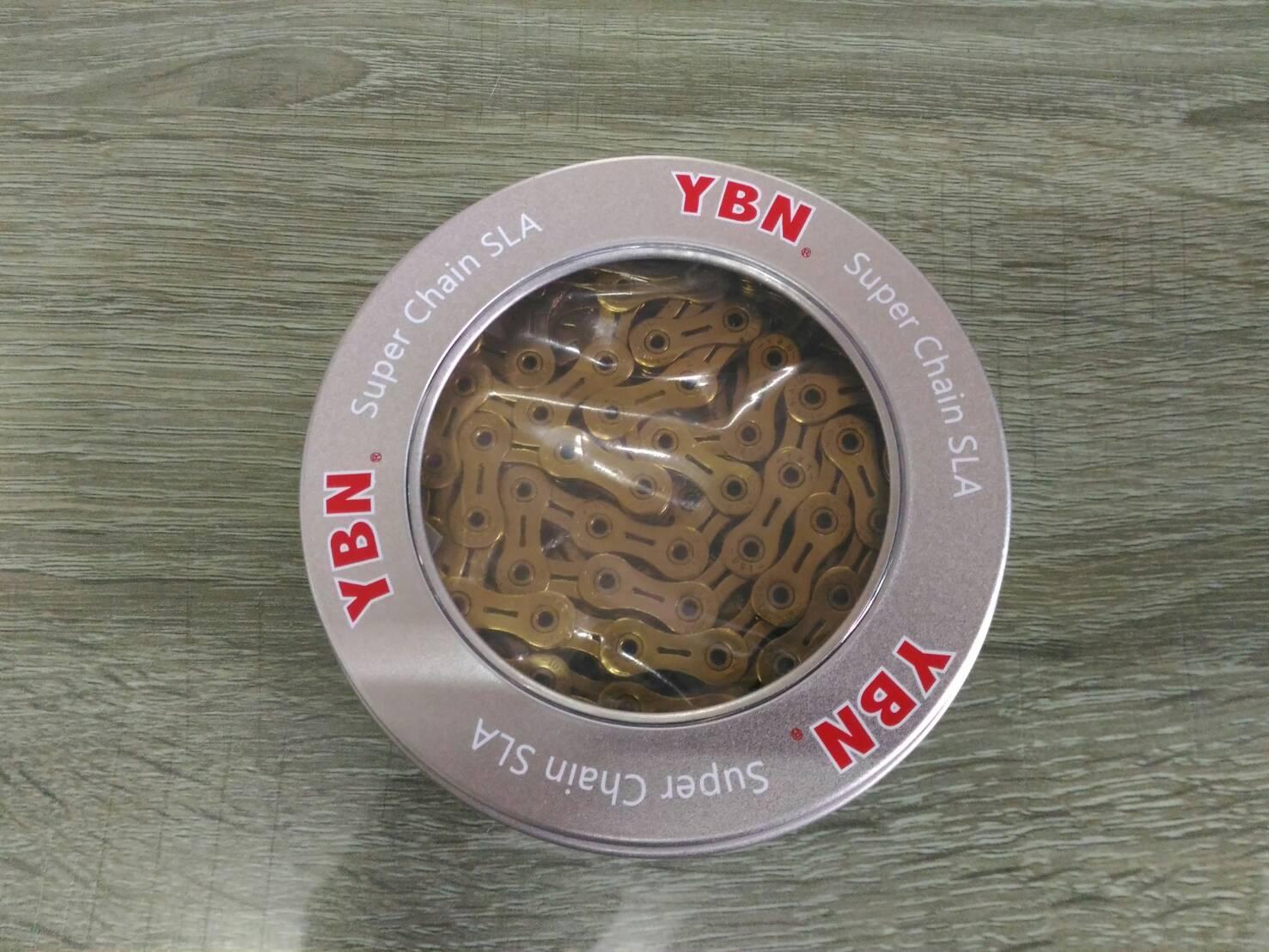 โซ่ YBN 10 sp สีทอง เซาะร่อง
