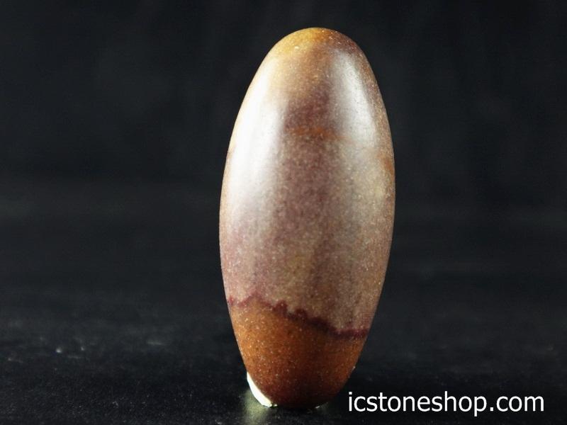 ▽ศิวลิงค์คัม หรือหินพระศิวะ หินศักดิ์สิทธิ์จากอินเดีย (6g)