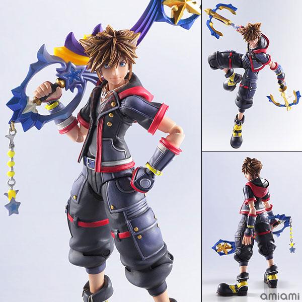 KINGDOM HEARTS III BRING ARTS - Sora Action Figure(Pre-order)