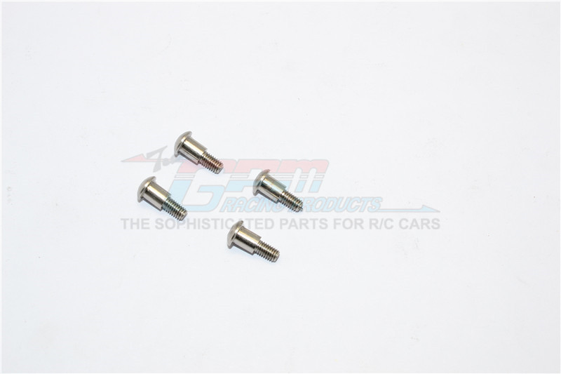 STAINLESS STEEL KING PIN SCREWS FOR FRONT KNUCKLE - 4PCS SET