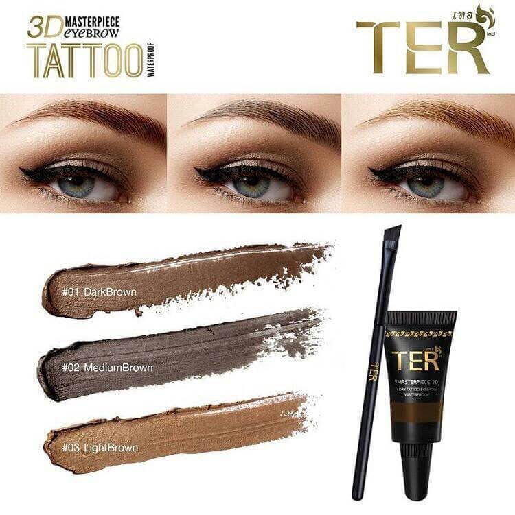 TER Masterpiece 3D Eyebrow Tattoo Waterproof 4g very good | eBay