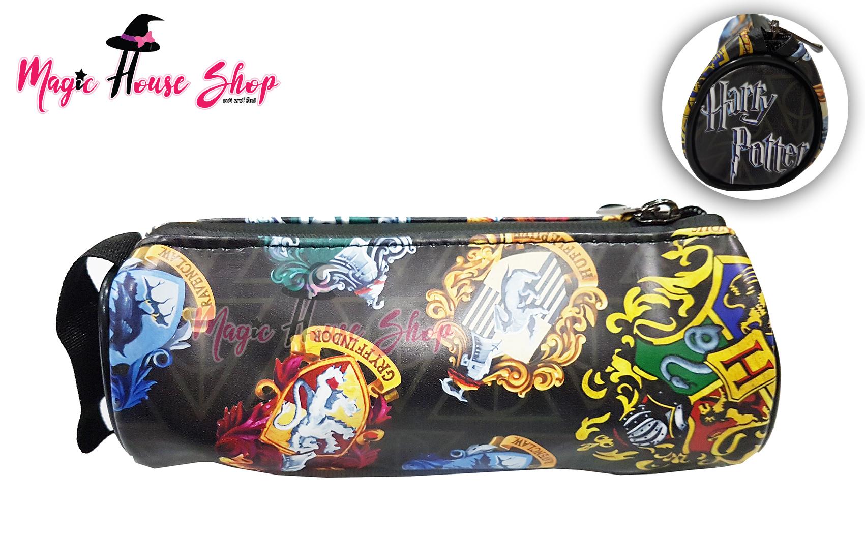 กระเป๋าดินสอ Harry Potter ฮอกวอตส์และประจำบ้าน