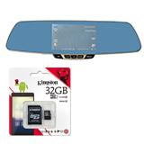 Car Camcorder Rear-View Mirror F3C + Kingston 32 GB Class 10