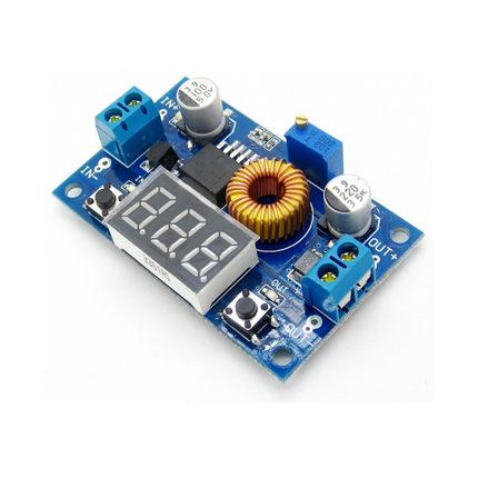 XL4015 Step down 5A 1.25-35VDC with Voltmeter โมดูลเรกูเลต step down 5A พร้อมโวลต์มิเตอร์