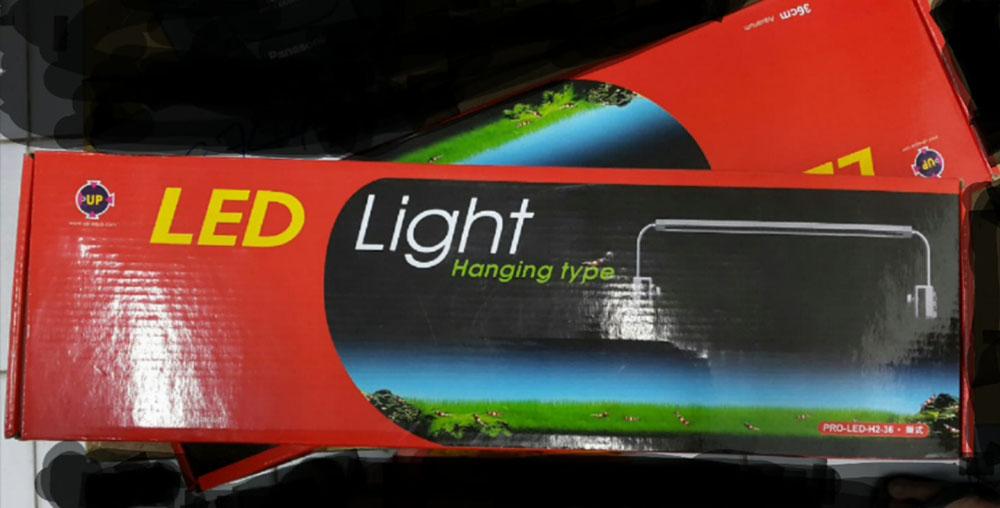 โคมพาดขอบตู้ LED *H2-45