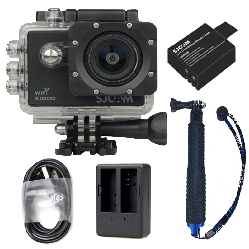 X1000+Extra Battery +Dual Charger + TMC Selfie (Blue Color)