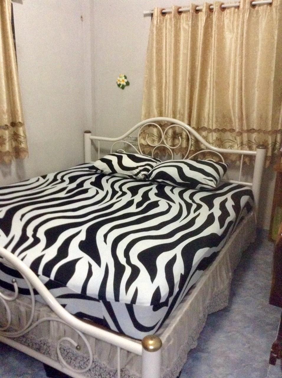 ผ้าปูที่นอนผ้ายืด #08