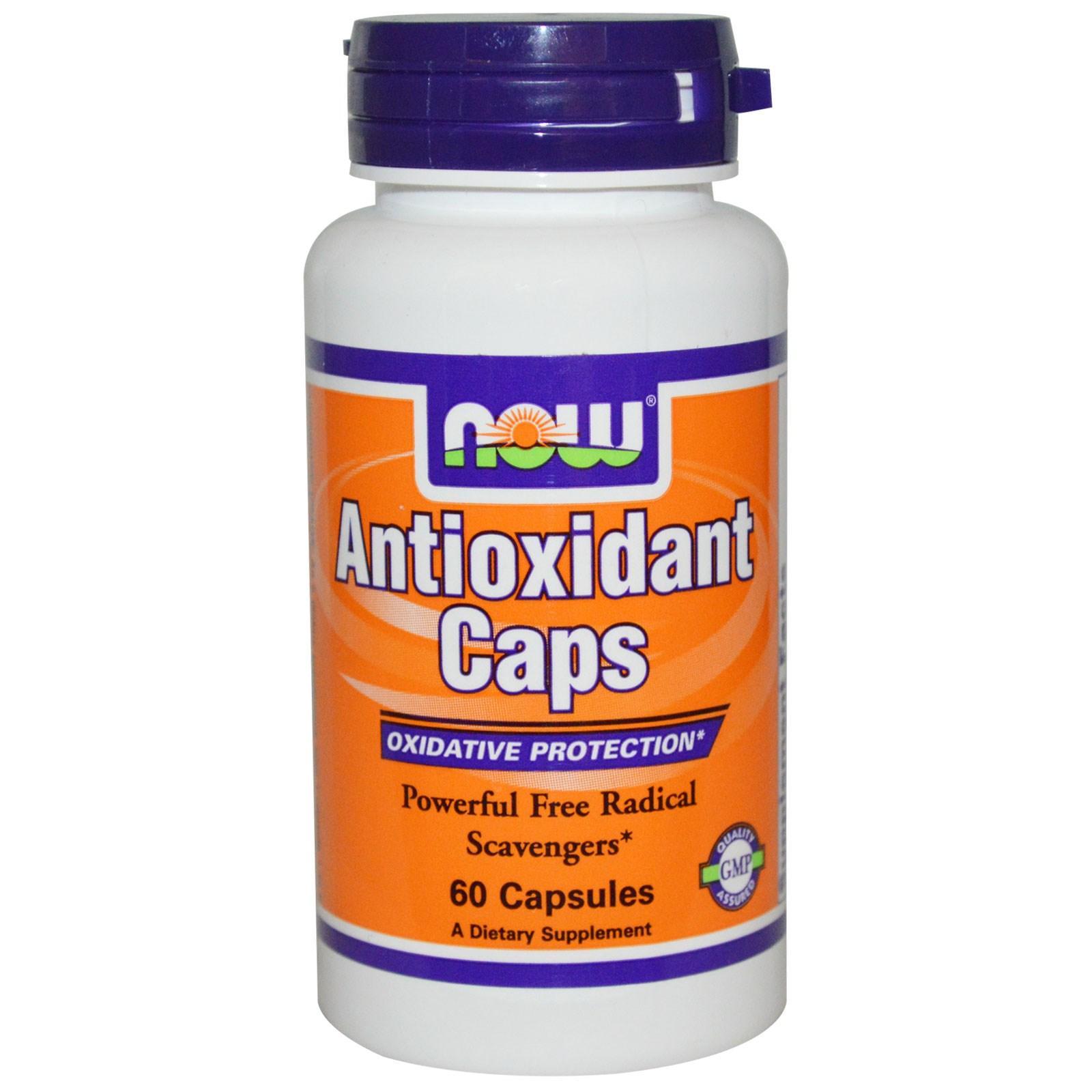 Now Foods Antioxidant Caps 60 Capsules