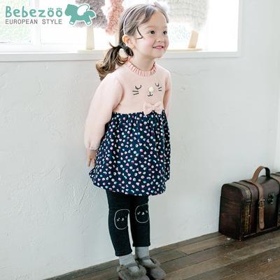 BZ131-เสื้อ+กางเกง 5 ตัว/แพค ไซส์ 90-100-100-110-110