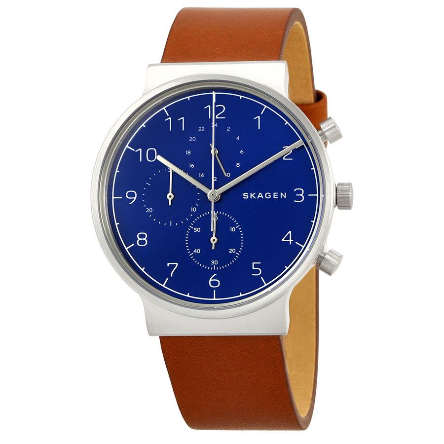 นาฬิกาผู้ชาย Skagen รุ่น SKW6358, Ancher Chronograph
