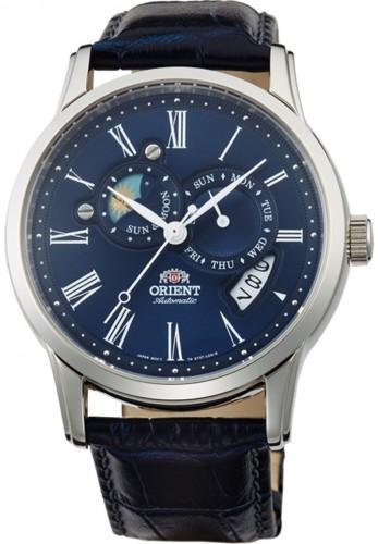 นาฬิกาผู้ชาย Orient รุ่น SET0T004D0, Automatic Sun And Moon Collection Japan