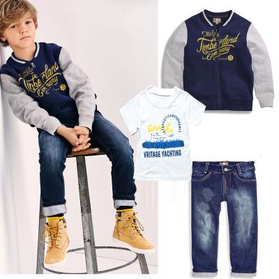 ID337- เสื้อ+กางเกง+แจ็คเก็ต 5 ชุด /แพค ไซส์ 90-130