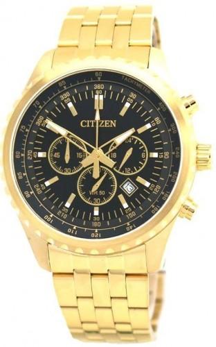 นาฬิกาข้อมือผู้ชาย Citizen รุ่น AN8062-51E, Quartz Chronograph Elegant Gold