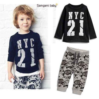 ID265-เสื้อ+กางเกง 4 ชุด /แพค ไซส์ 70 80 90 100