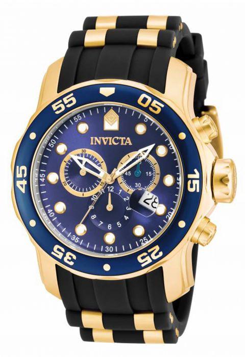 นาฬิกาผู้ชาย Invicta รุ่น INV17882 , Pro Diver Blue Dial Chronograph Men's Watch