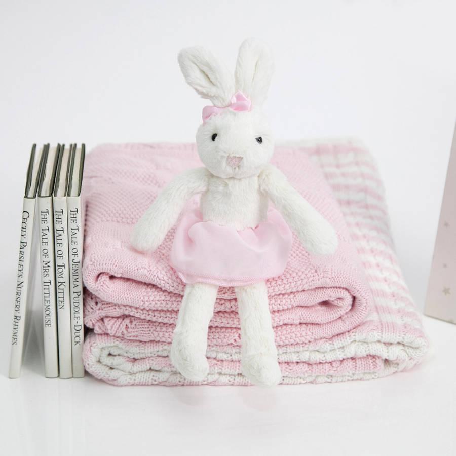 ตุ๊กตากระต่าย ขนนุ่ม สีชมพู Mamas & Papas Millie Soft Toy