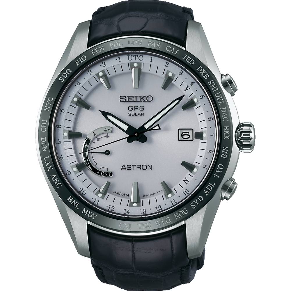 นาฬิกาผู้ชาย Seiko รุ่น SSE093J1, Astron GPS Solar World Time Japan