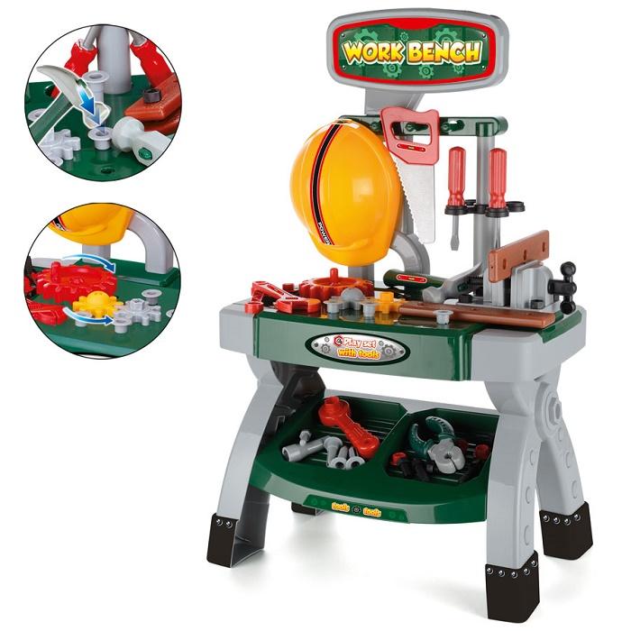 ชุดเครื่องมือช่างหนูน้อย Toy Workbench and Tools Play Set