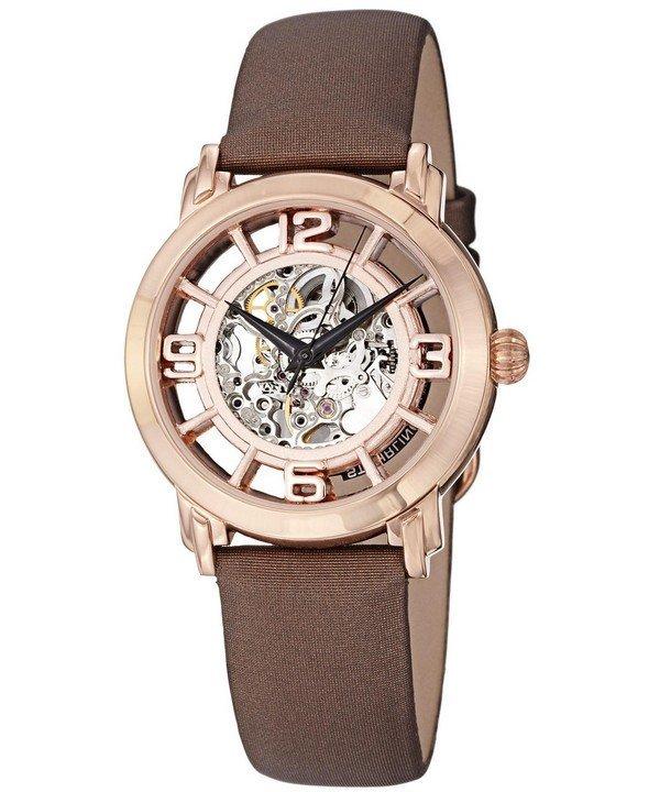 นาฬิกาผู้หญิง Stuhrling Original รุ่น 156.124T14, Winchester Automatic Skeleton Dial