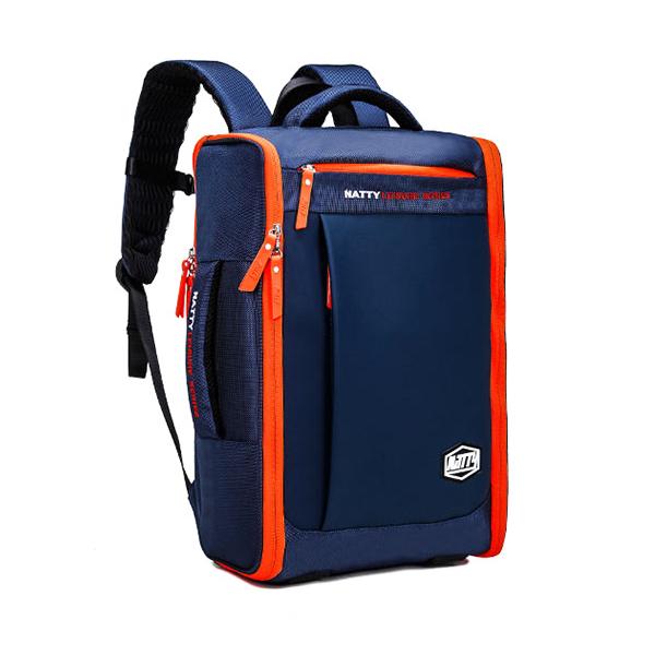 MD02 กระเป๋าเป้ สีน้ำเงิน
