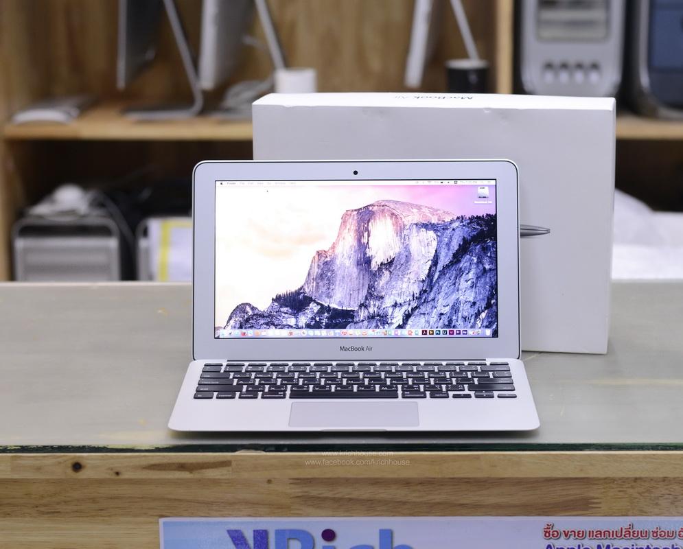 MacBook Air 11-inch Mid2013 Core i5 1.3GHz RAM 4GB SSD 256GB FullBox