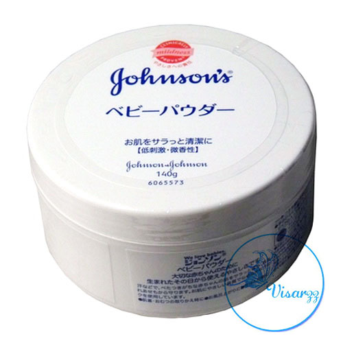 (ขายส่ง 200.-) Johnson's Baby Powder 140g Made in Japan แป้งฝุ่นคุณภาพเยี่ยม แป้งขาวไม่มีสี ไม่ทำให้เกิดสิว คุมมันดีเยี่ยม