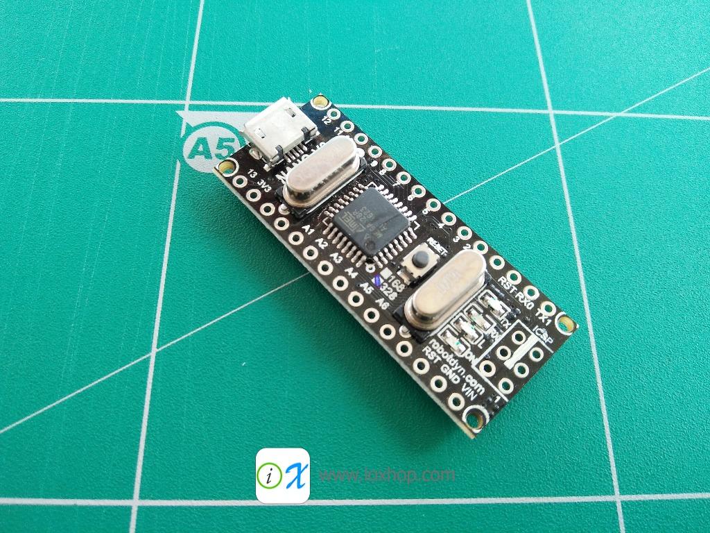 RobotDyn Nano V3 ATmega328/CH340G, Micro USB (Compatible for Arduino Nano V3.0)