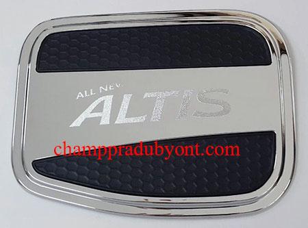 ครอบฝาถังน้ำมันโครเมี่ยม TOYOTA ALTIS 14-16 (V.2)
