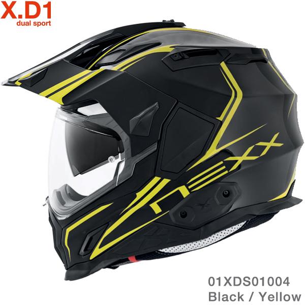 Nexx X.D1 Voyager Black-Yellow
