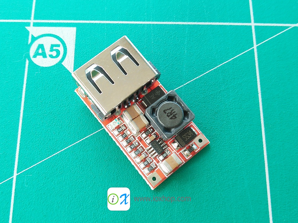 6 - 24VDC to 5V USB Output charger