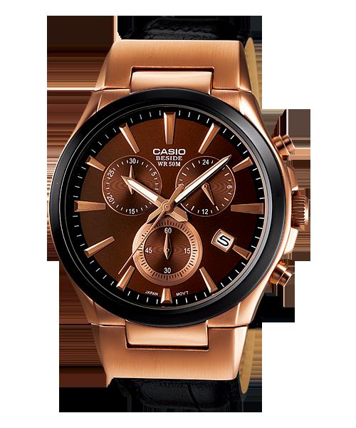นาฬิกา คาสิโอ Casio BESIDE CHRONOGRAPH รุ่น BEM-508GL-5AV