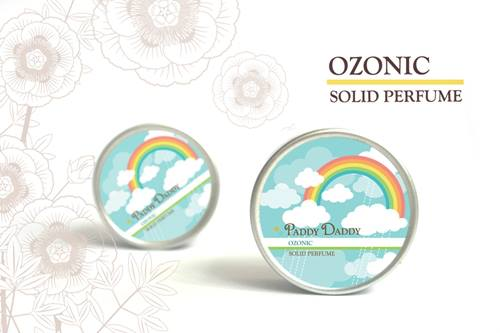 Aromatic Solid Perfume Ozonic น้ำหอมแห้งเนื้อบาล์ม แพดดี้แดดดี้ กลิ่นโอโซนิค (กลิ่นคล้ายน้ำหอม Clinique Happy Heart)