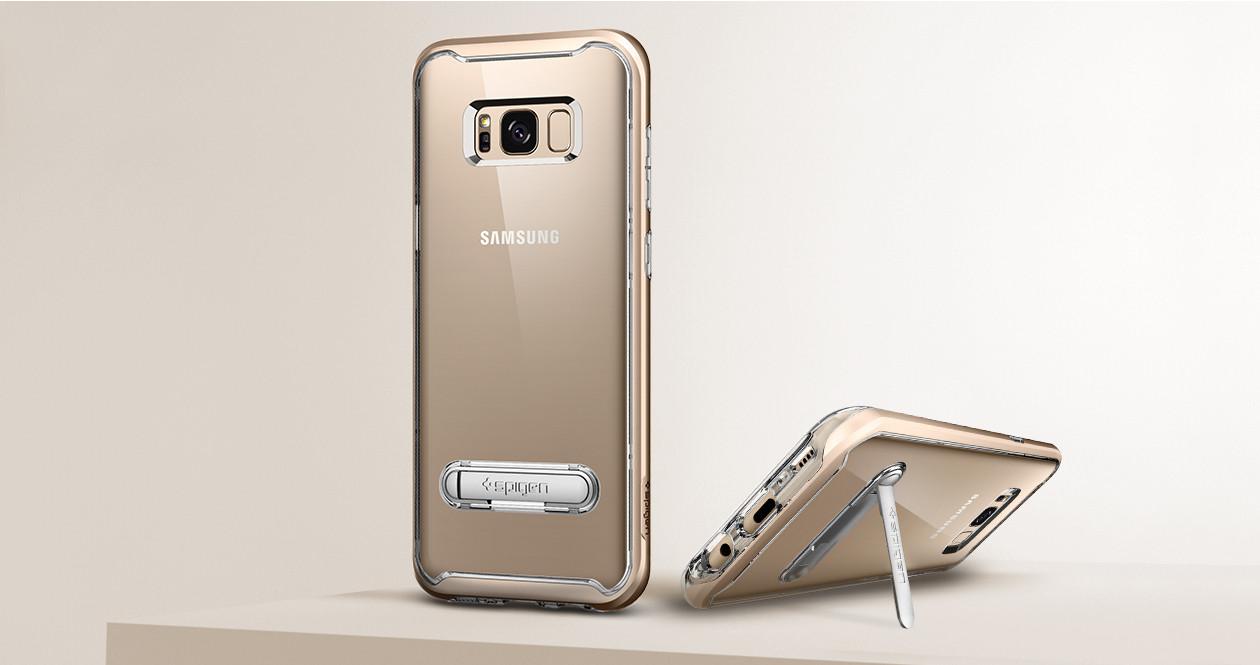 เคส SPIGEN Crystal Hybrid Galaxy S8