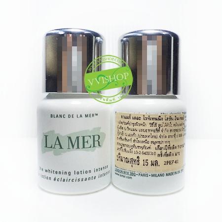 La Mer The Whitening Lotion Intense 15 ml โลชั่นปรับสีผิวที่หม่นหมอง ไม่เรียบเนียน ให้คุณรู้สึกได้ถึงความกระจ่างใส