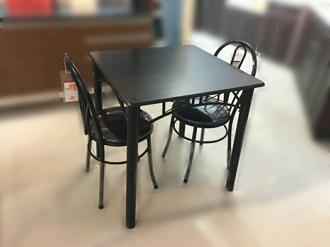 ชุดโต๊ะอาหาร 2 ที่นั่ง บองก้า 75x75