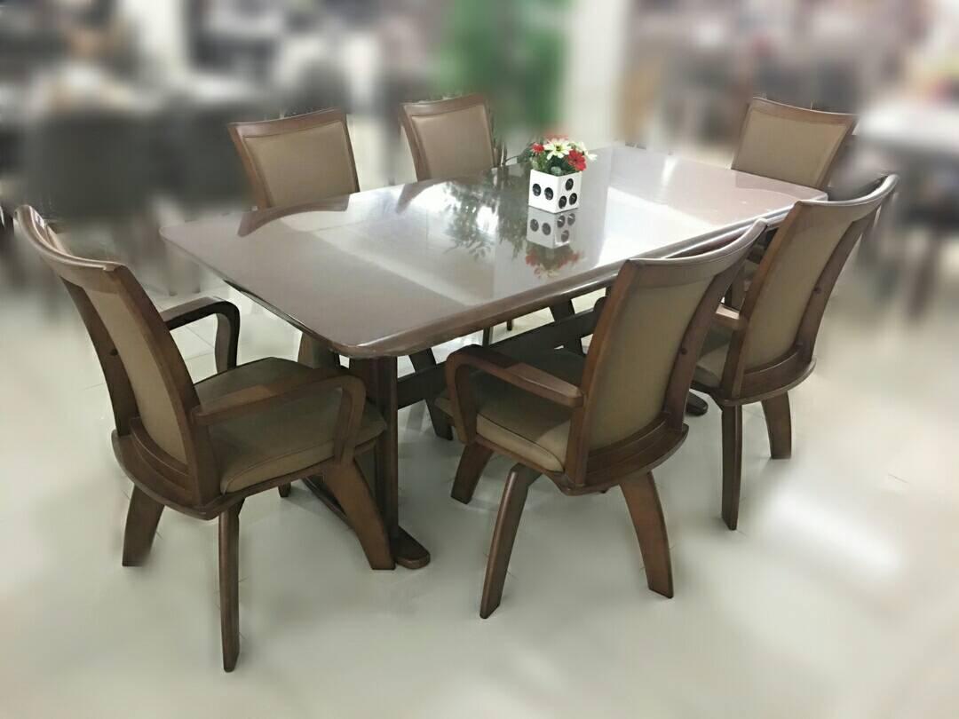ชุดโต๊ะอาหาร 6 ที่นั่ง แดเนียล