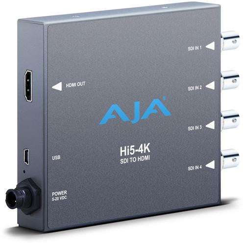 AJA Hi5-4K 4K SDI to HDMI Converter