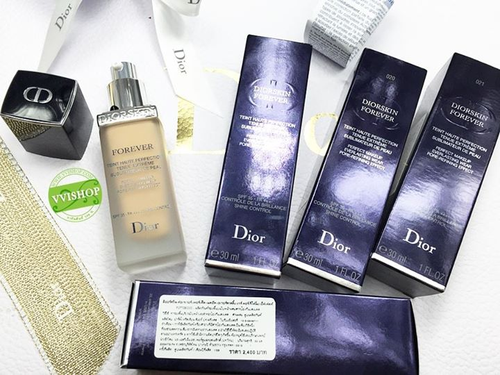 Diorskin Forever Perfect Makeup Everlasting Wear Pore-Refining Effect SPF 35 PA +++ SHINE CONTROL # 021 : สำหรับผิวขาวกลางๆ โทนเหลือง * ลดพิเศษ 35 %