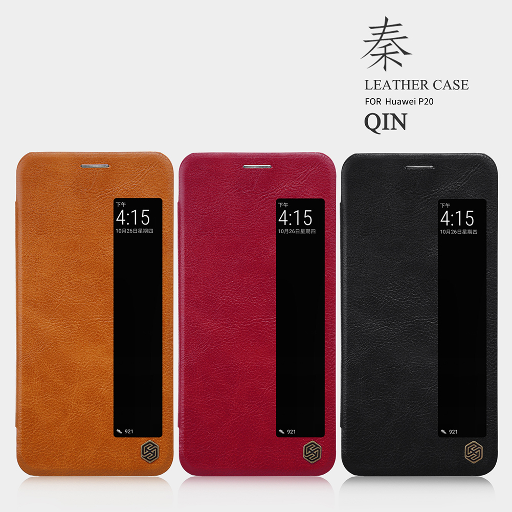 เคสฝาพับ NILLKIN Qin Leather Case Huawei P20