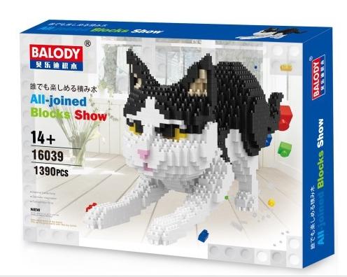 นาโนบล็อค : น้องแมวขาวดำ