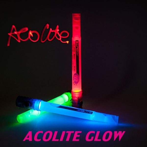 ACOLITE GLOW - LED Glow Stick Flashlight With Whistle